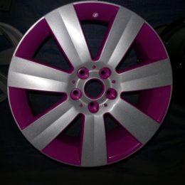 Розовый + металлик